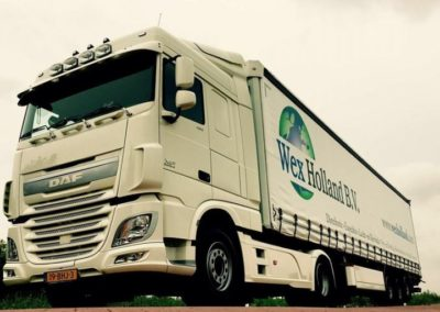 Transport gerealiseerd door Wex Holland B.V.